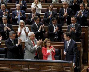 Aplausos grupo popular en el congreso