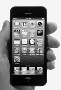 IPhone 5 y el pulgar