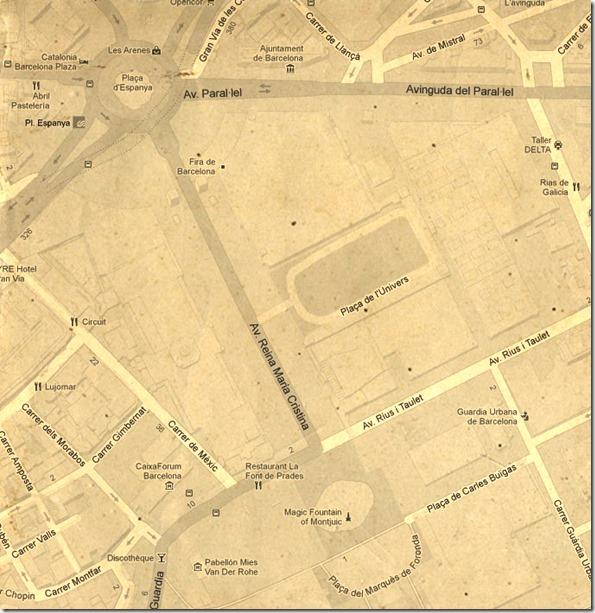 Mapa de la zona 1
