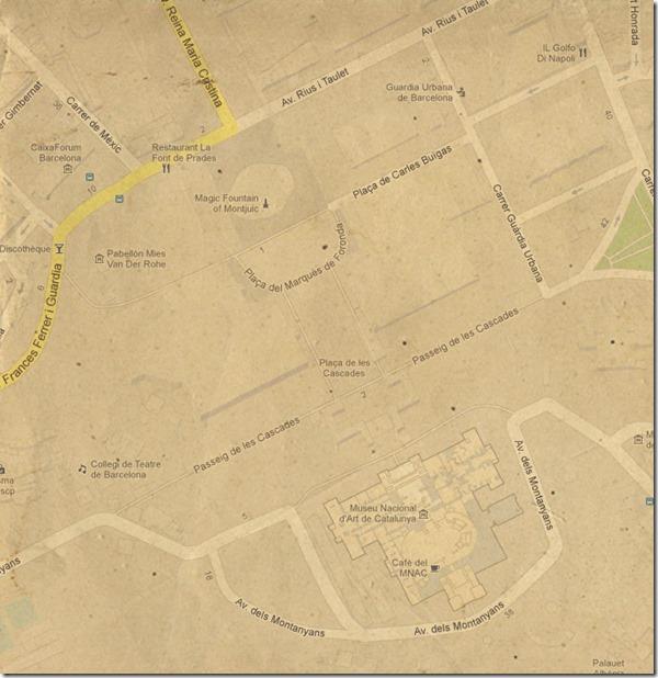 Mapa de la zona 2