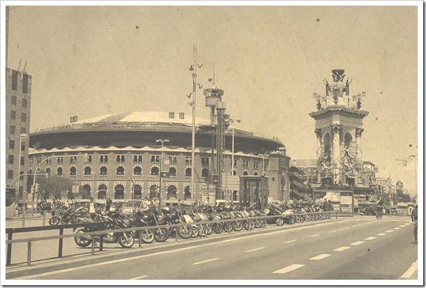 Plaza de españa y Las Arenas