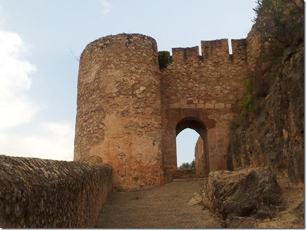 El castillo de Chulilla. Símbolo del pueblo.