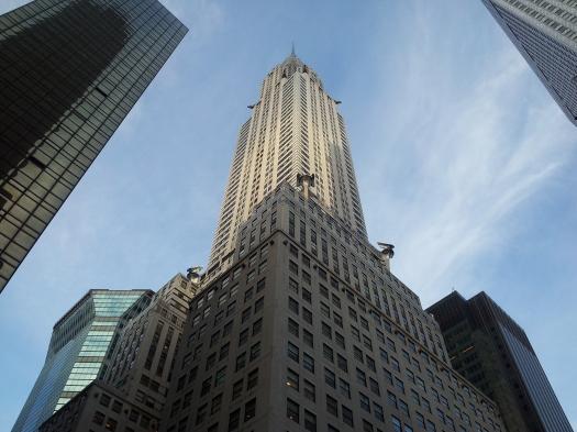 El edificio Crysler.
