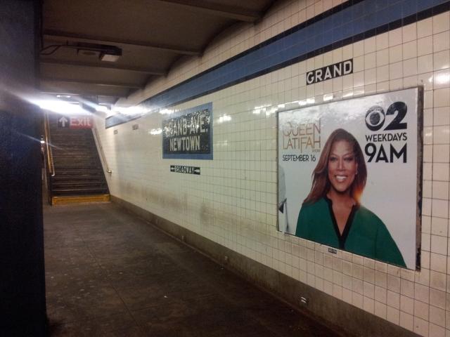 Mi parada de metro.