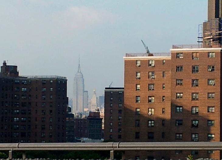El Empire State desde el Puente de Brooklyn